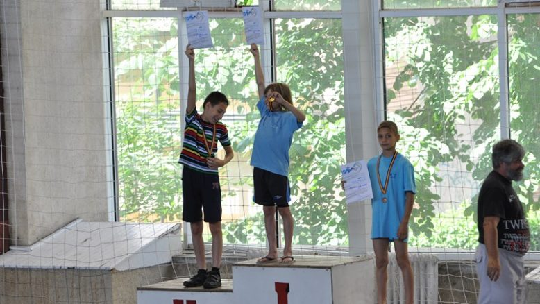 Arad 50m bras rogoveanu vlad locul 3