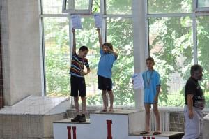 50m bras - Rogoveanu Vlad , locul 3
