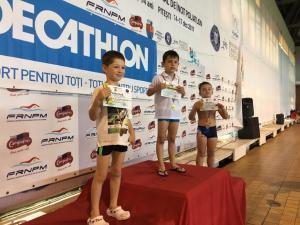 David Stefan - 6 ani - loc 2 50m liber - Pitesti 2018