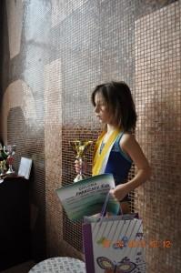 Paraschiv Eva si Cupa pentru fete 6 ani