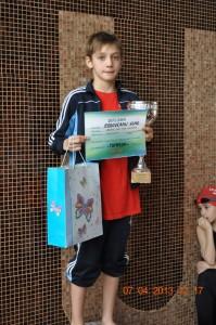 Rogoveanu Vlad si Cupa pentru baieti 10 ani