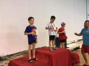 David Ștefan - Locul 2 50m liber băieti 7 ani premiere