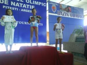 Niculae Alexandra - locul 3 la 50m spate