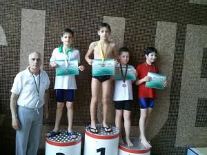 Rogoveanu Vlad - locul 1 - 50m bras