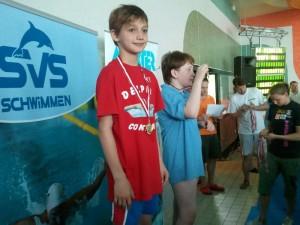 Rogoveanu Vlad , locul 1 - 50m liber