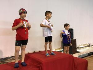 David Ștefan  50m liber podium